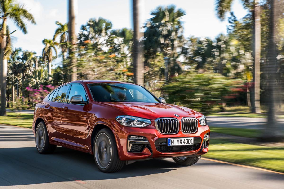 Первые официальные фото BMW X4 2019