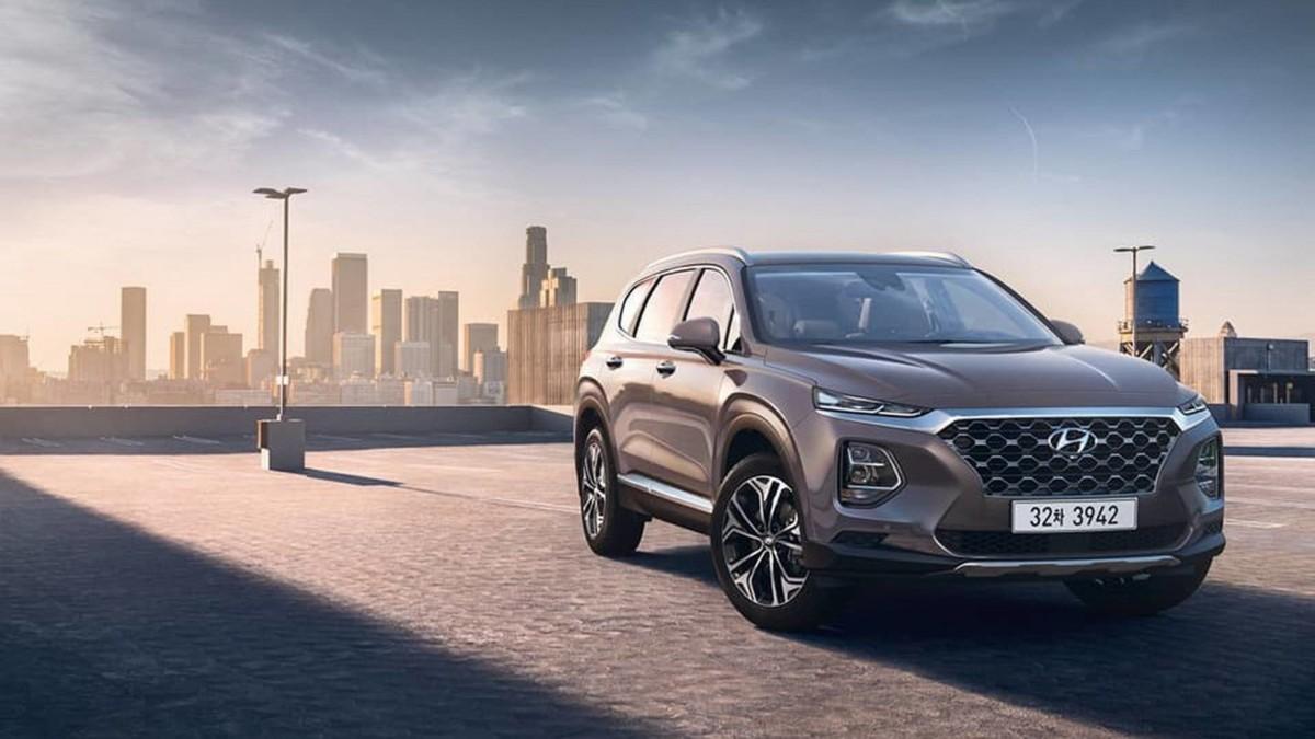 Первые официальные фото Hyundai Santa Fe 2019