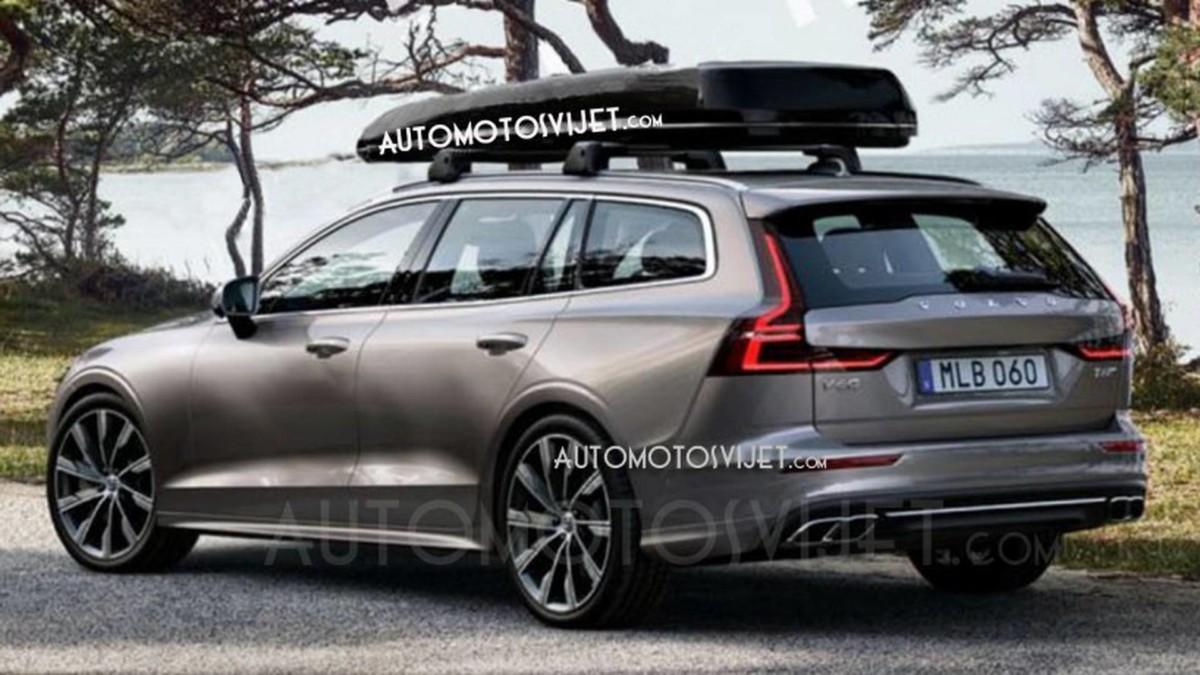 Новый универсал Volvo засветился на фото и видео