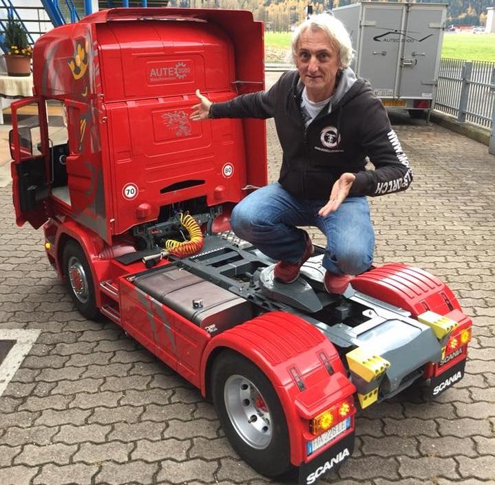 Масштабная модель грузовика за 65 тысяч евро