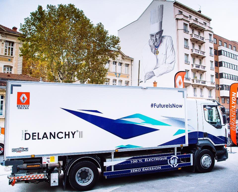 Рено планирует вывести нарынок линейку электрогрузовиков