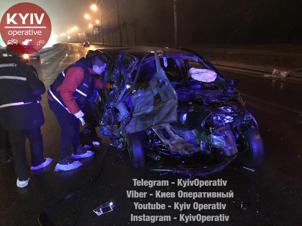 ДТП на Шухевича в Киеве: виновнику грозит до 10 лет тюрьмы