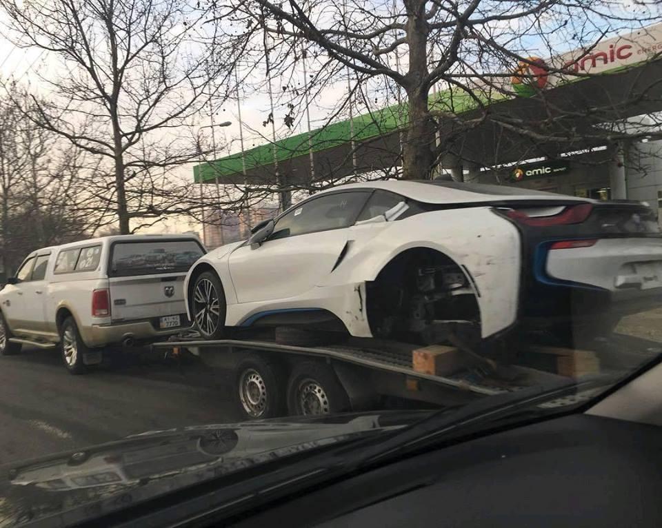 BMW i8 в Украине