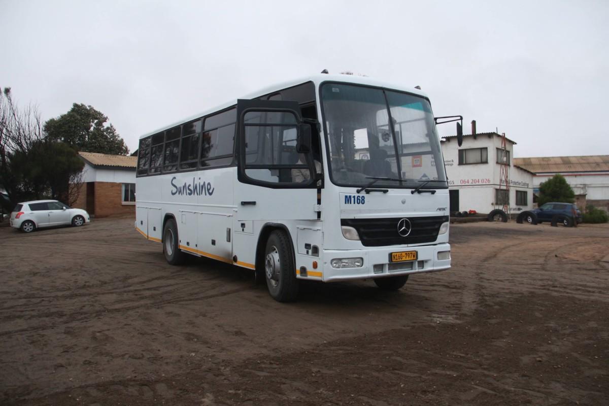 Африканский автобус 2000 на шасси Mercedes-Benz Atego 1318