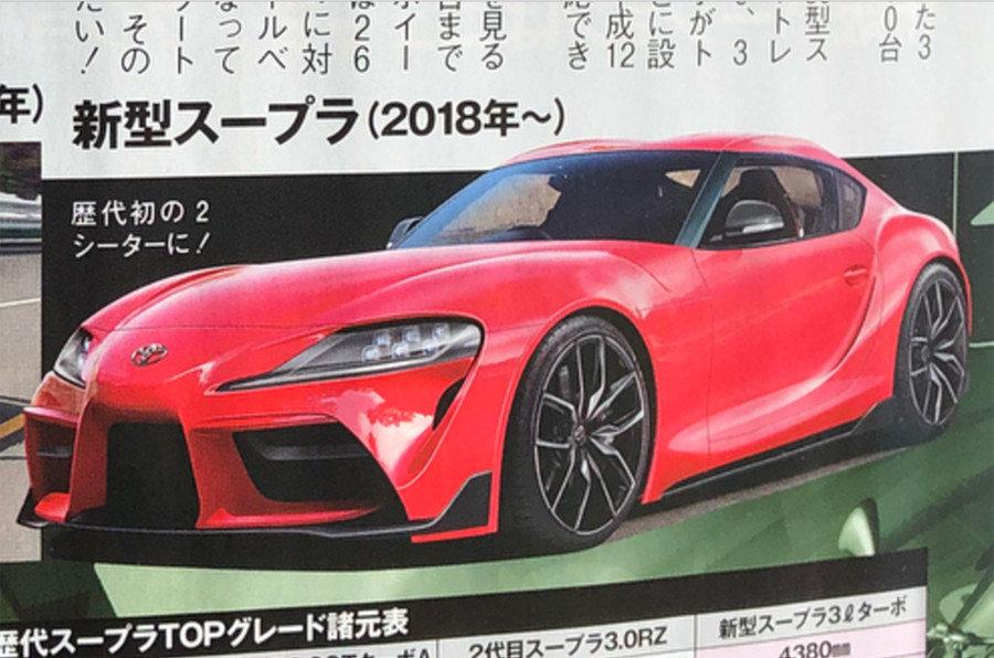 Новая Toyota Supra 2019 полностью рассекречена до премьеры