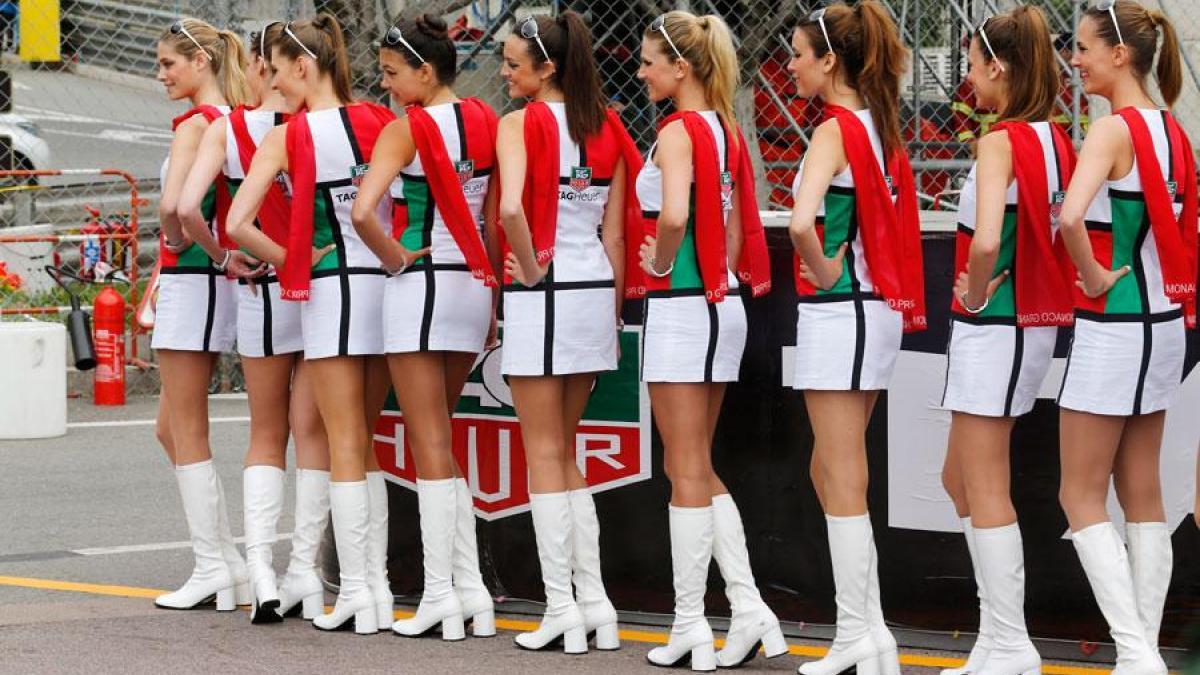 Гран-при Формулы 1 2018 будут проходить без девушек на старте