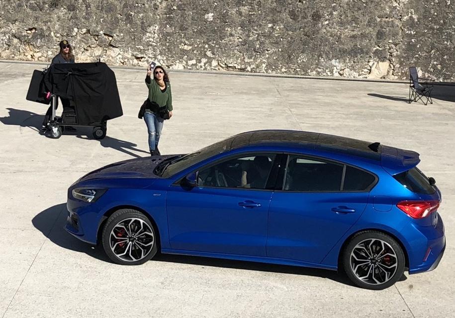 Новый Ford Focus 2019 впервые засняли вживую