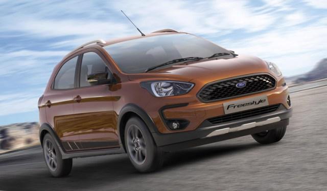 Новый Ford Ka+ получил внедорожную версию