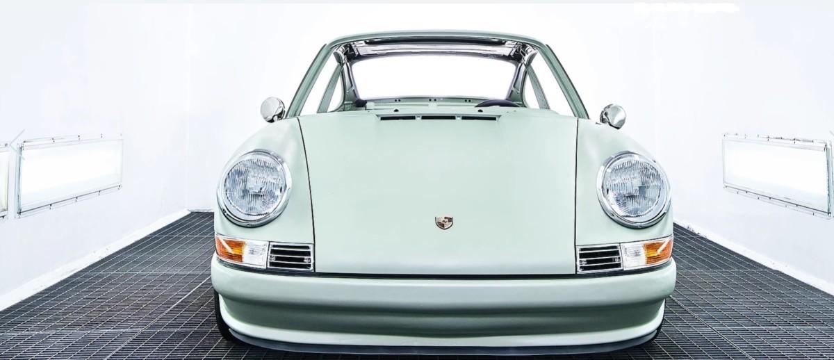 Quintessenza – необычный Porsche 911 на электротяге