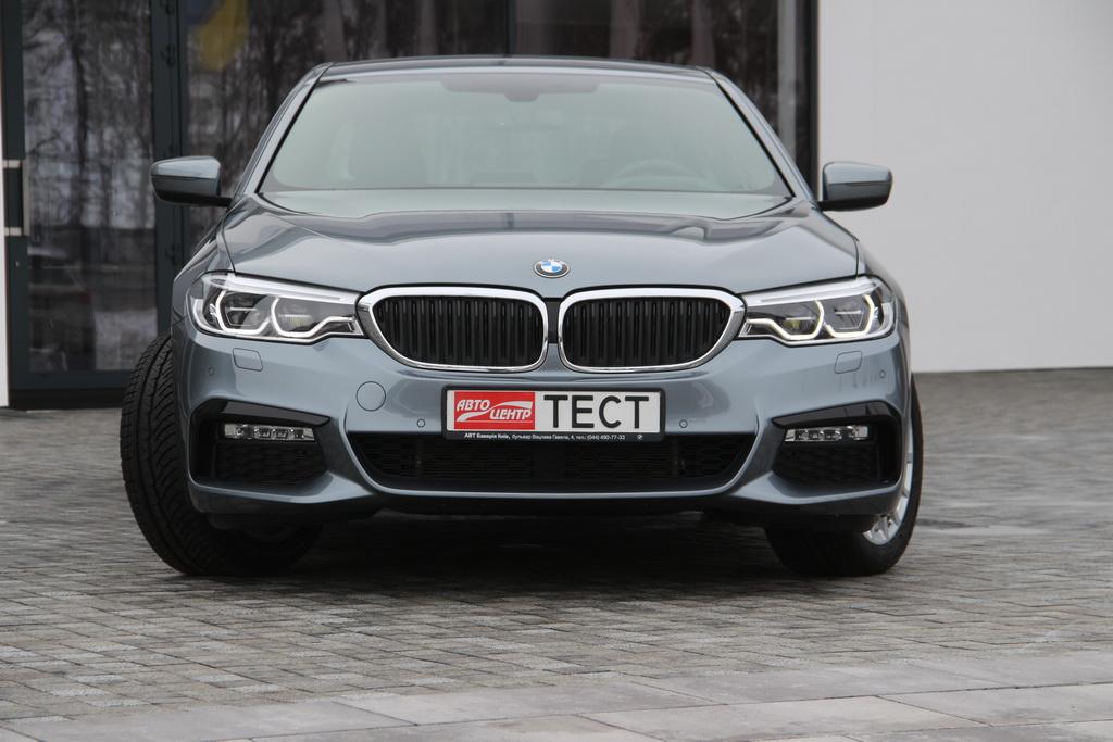 Внешность BMW 5 гибрид
