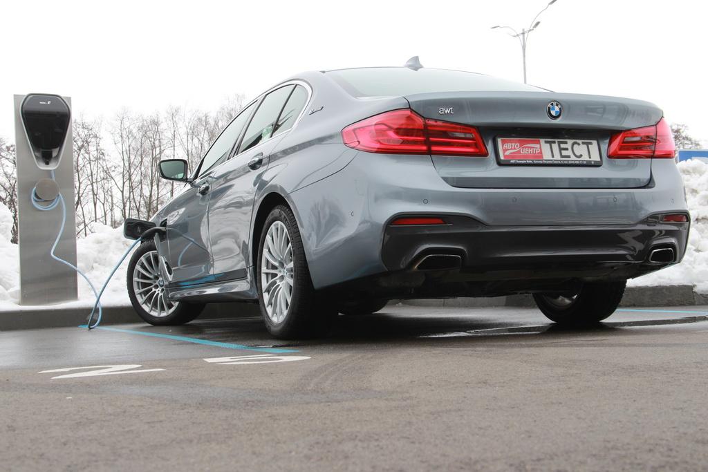 Как выглядит BMW 530e