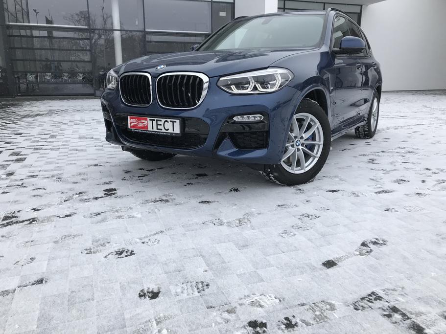 Внешний вид BMW X3 2018