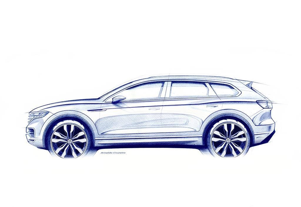 Volkswagen Touareg 2019: официальные изображения и дата премьеры