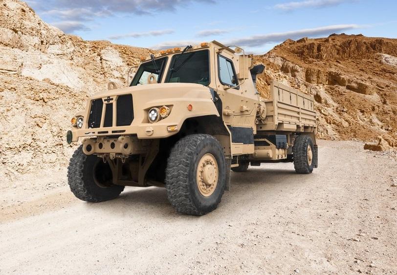 Бронированные грузовики Oshkosh нового поколения