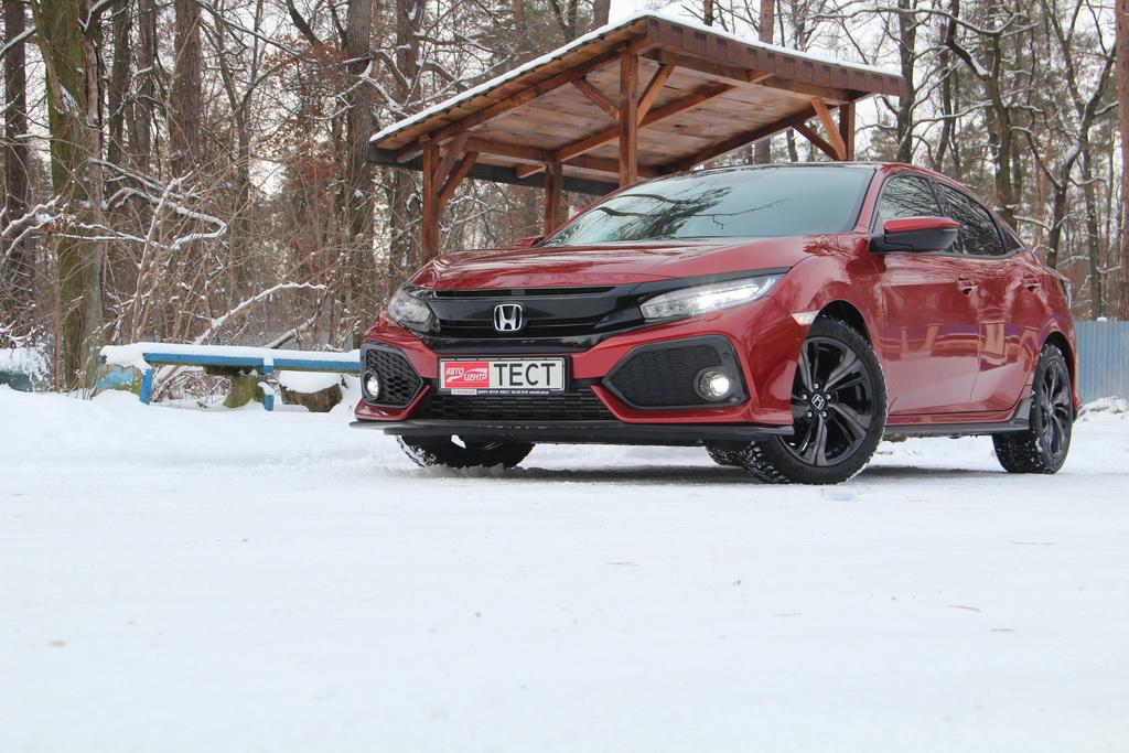 Внешность Honda Civic 5D 2018