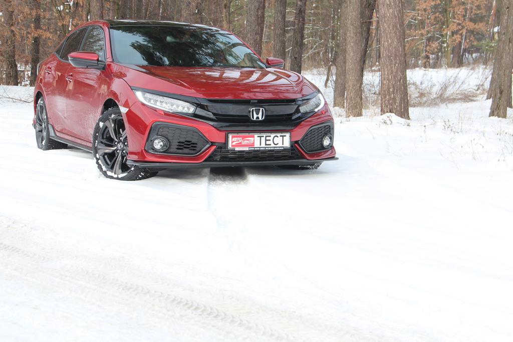 Как выглядит Honda Civic 5D 2018