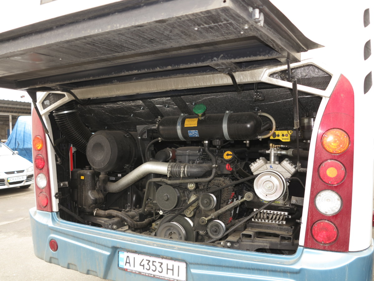 Двигатель Scania Евро 5