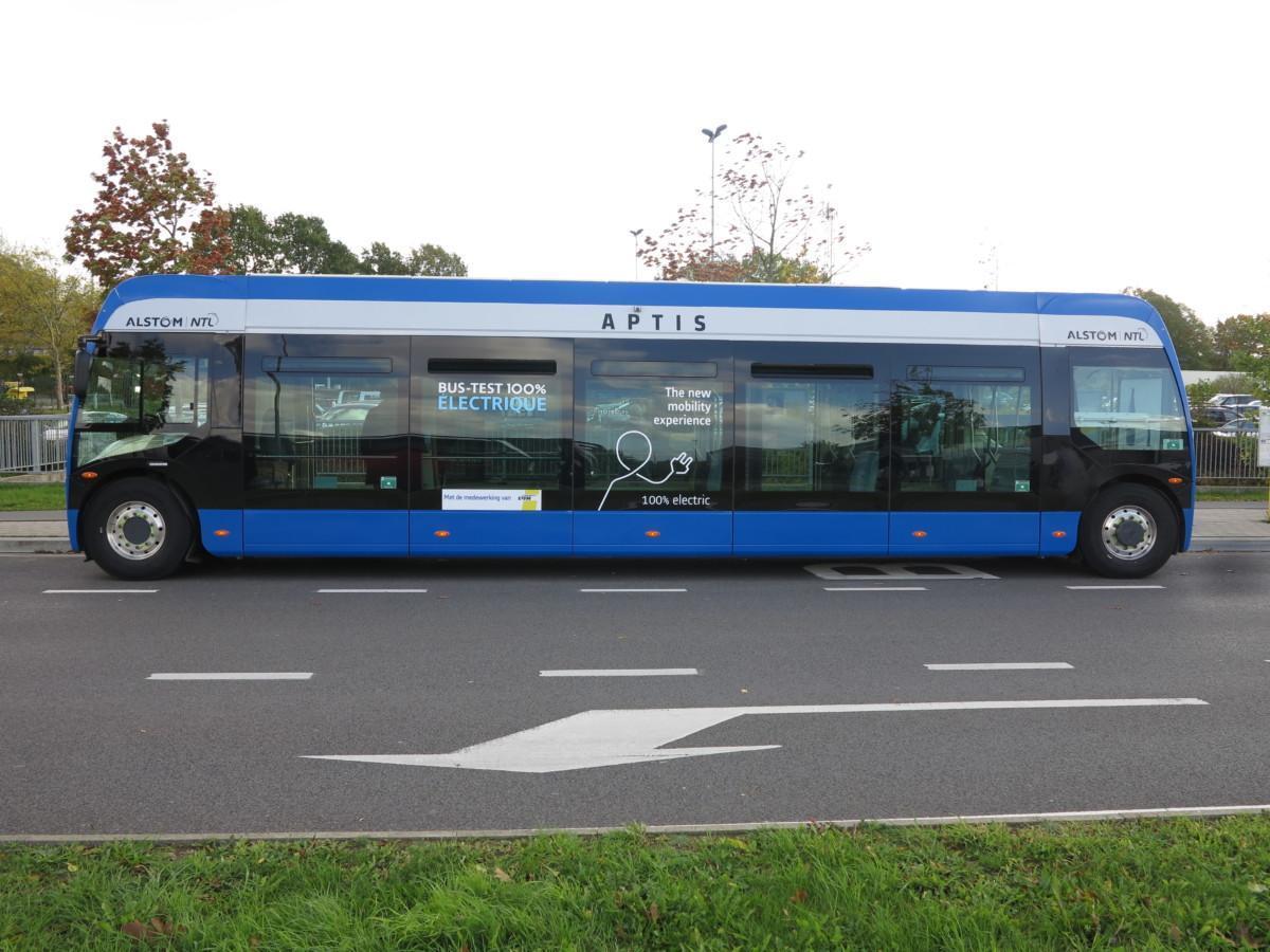 Электробус Alstom Aptis