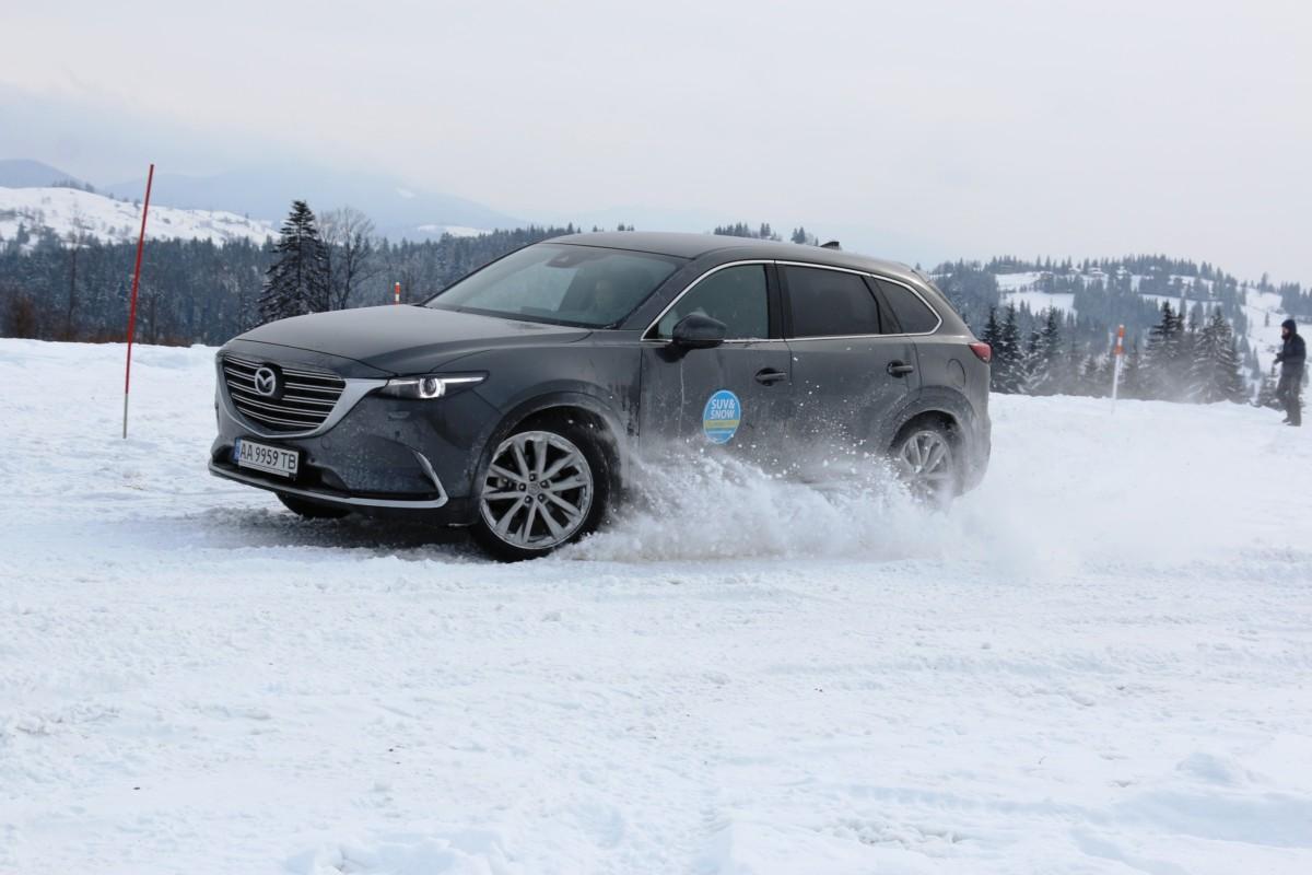 Может ли новая Mazda CX-9 преодолевать бездорожье