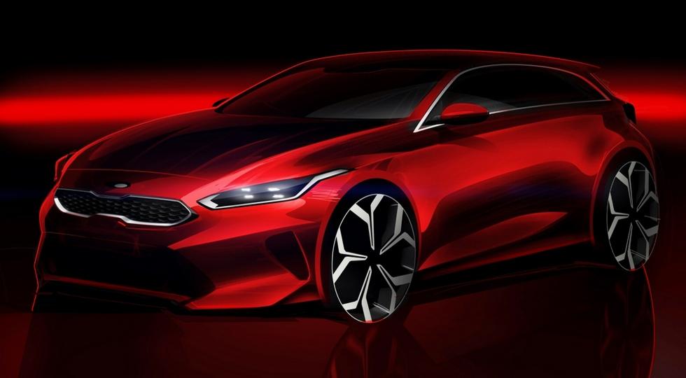 Новый Kia Ceed 2018 рассекретили на официальных изображениях