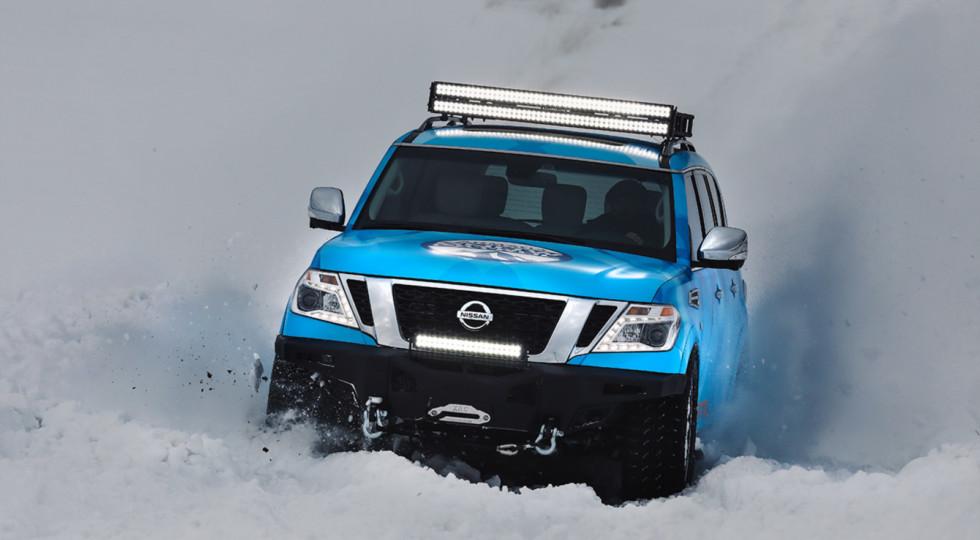 Nissan Armada подготовили к самым снежным зимам