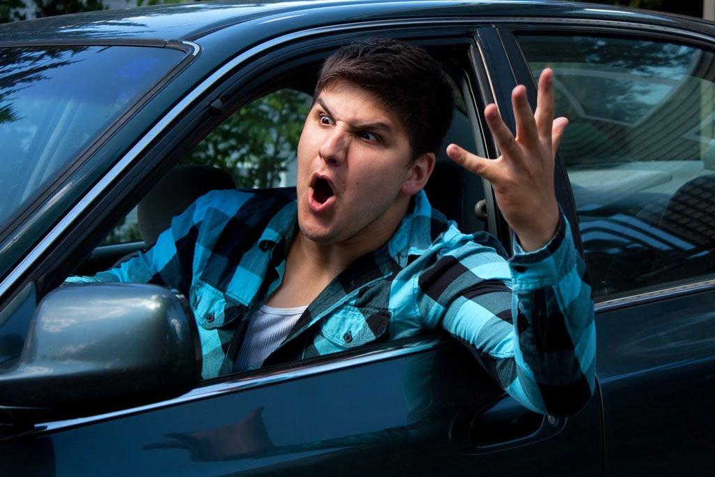 ПДД - низкая культура украинских водителей