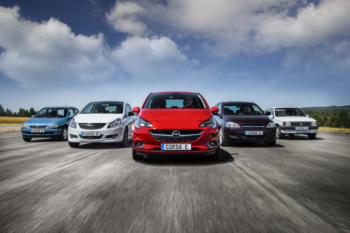 Новый Opel Corsa станет электромобилем