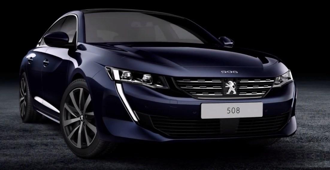 Новый Peugeot 508 2019 полностью рассекречен