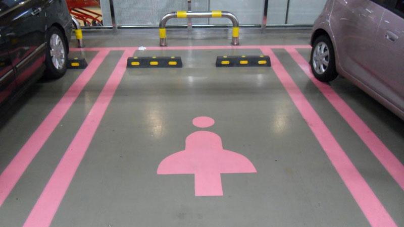 Парковки для женщин ОАЭ