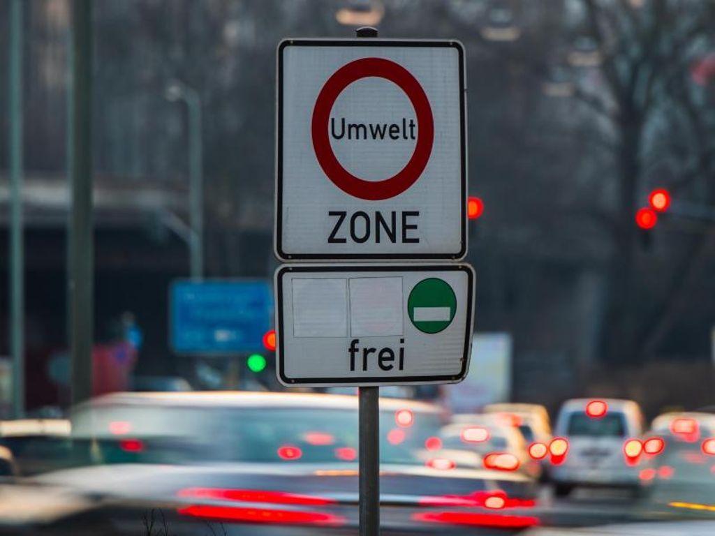 В Германии могут запретить въезд дизельных автомобилей в города