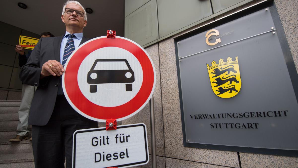 Запрет на дизельные авто в Германии