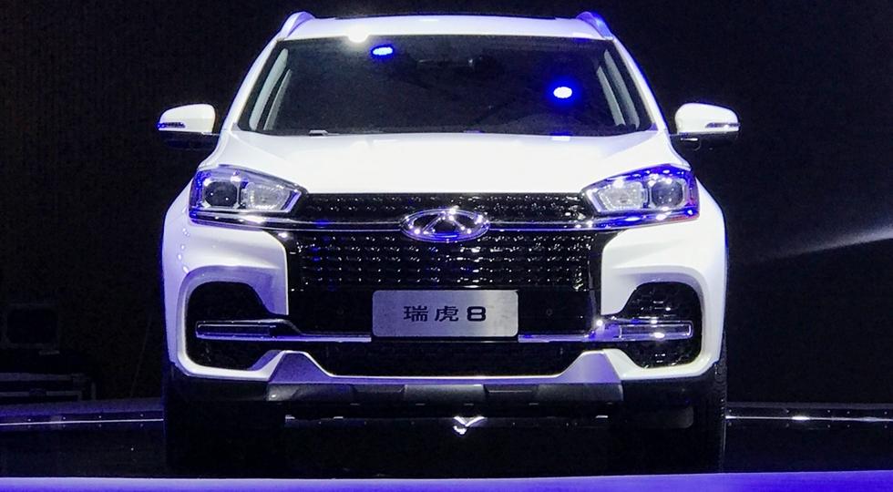 В Китае представлен первый семиместный кроссовер Chery Tiggo