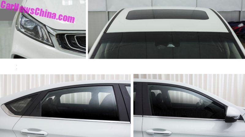 Geely SL: новый китайский седан в стиле Ford Mondeo