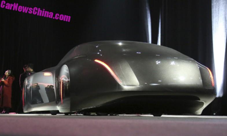 Как выглядит самый невероятный китайский автомобиль