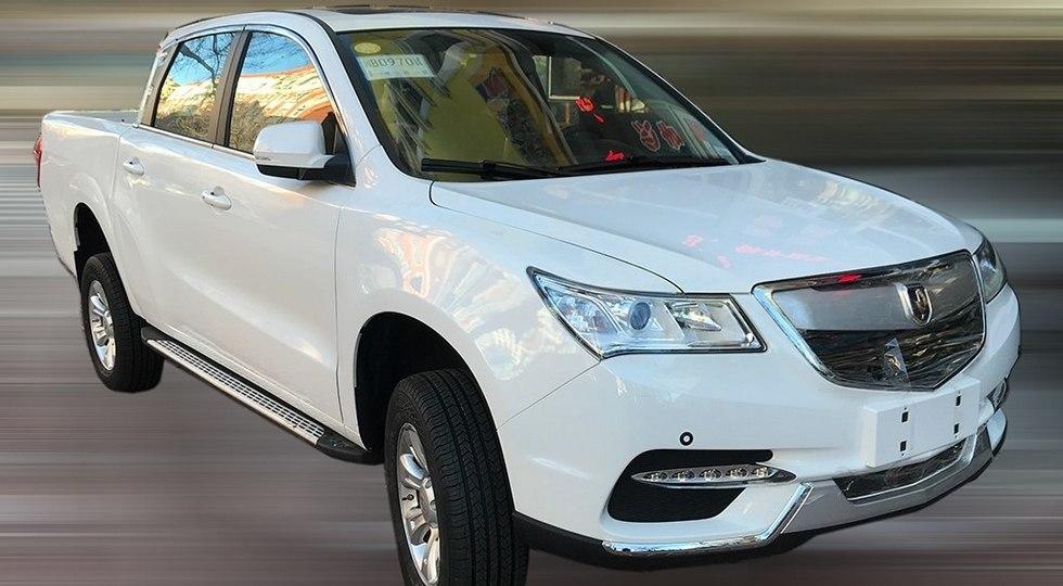 В Китае копировали несуществующий пикап Acura