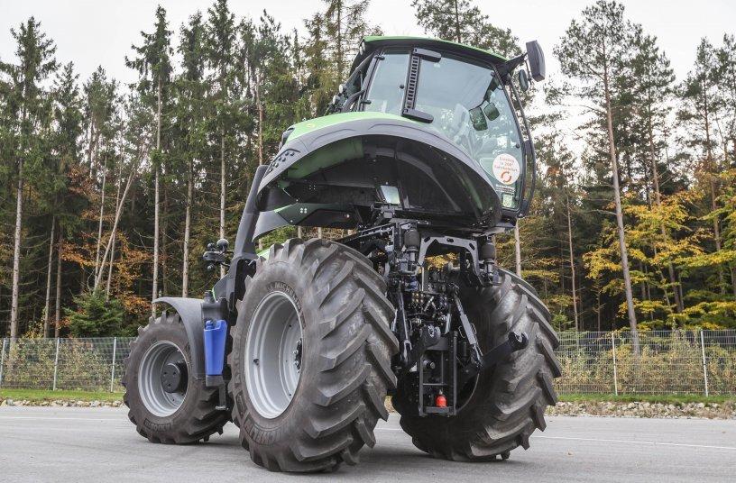 трактор Deutz TTV 9340 Agrotron