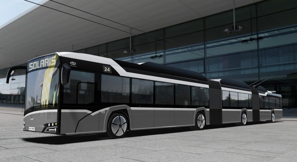 Проект 24-метрового троллейбуса Solaris Trollino 24