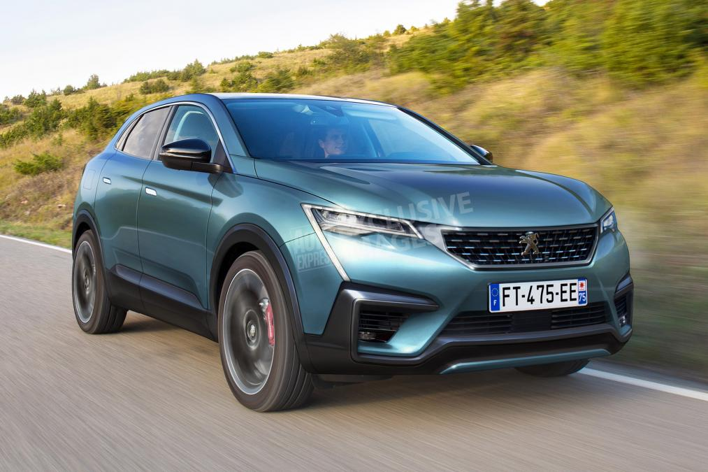 Каким будет первый купе-кроссовер Peugeot