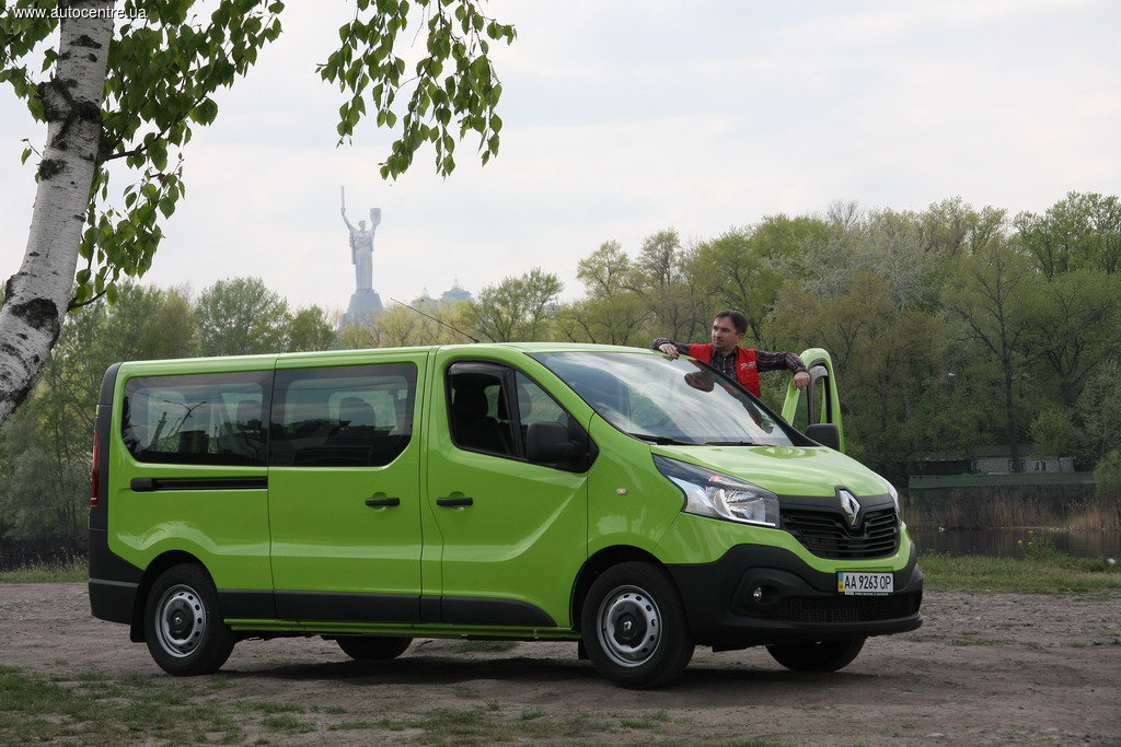 Renault Trafic, третьего поколения