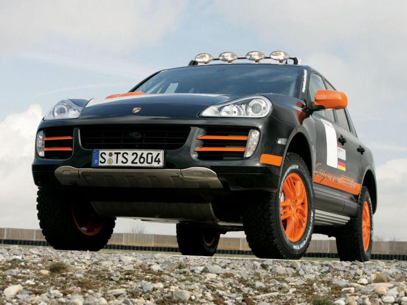 Porsche Cayenne Transsyberia