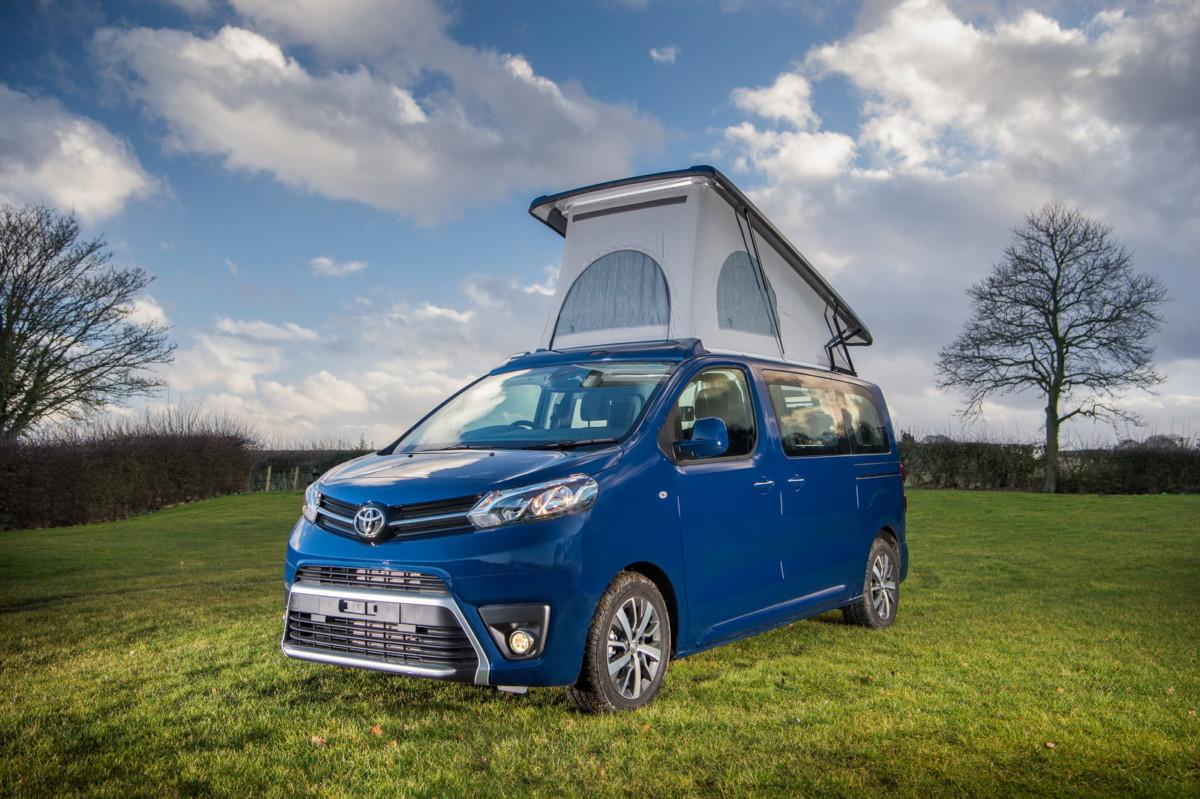 Toyota Proace Lerina должен составить конкуренцию Volkswagen California