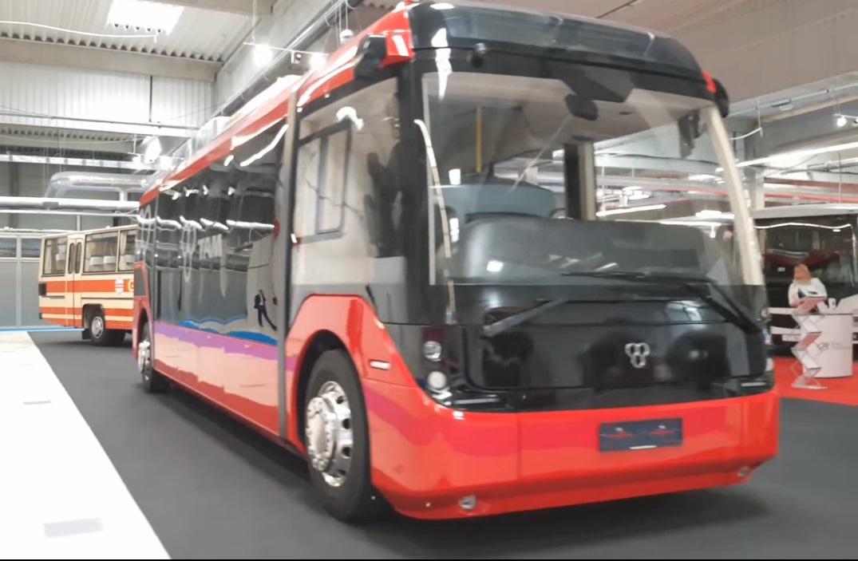 Словенский электробус ТАМ Vero