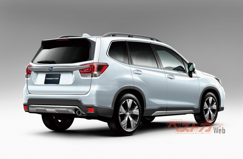 Внешность нового Subaru Forester 2019 полностью ...