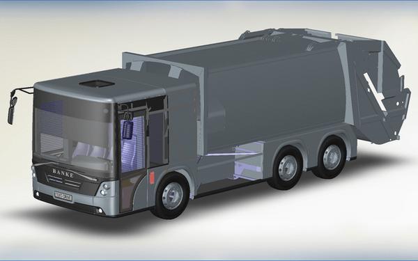 Мусоровозы на электротяге для Banke Electromotive будут выпускать на луцком Автосборочном заводе №1