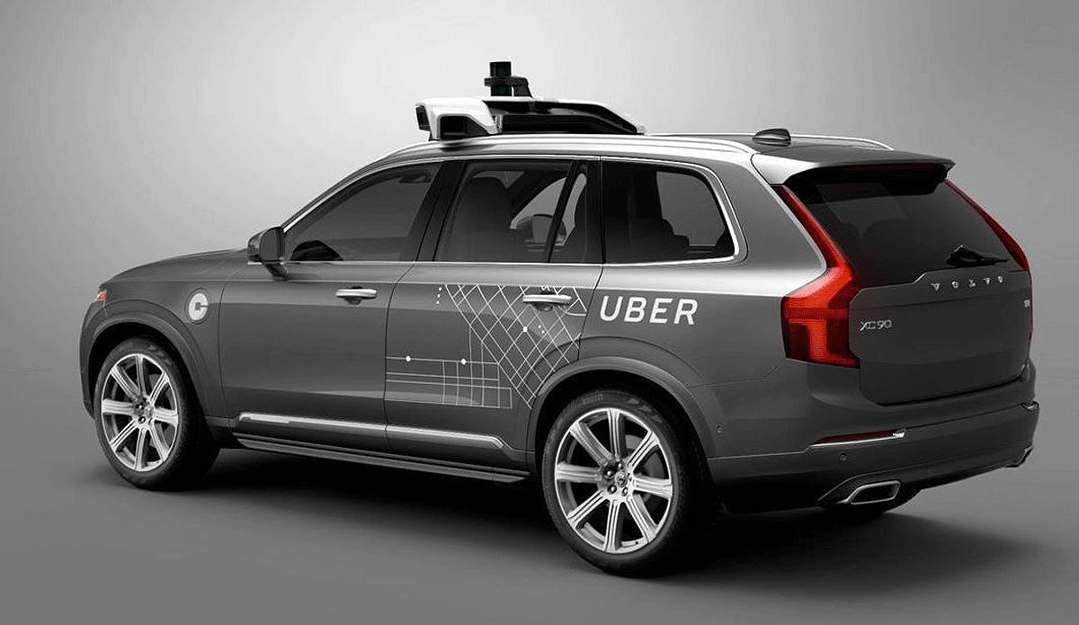 беспилотник Uber - видео смертельной аварии