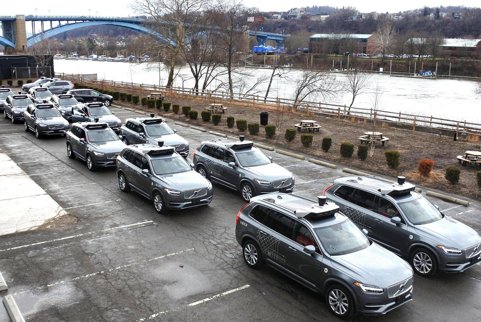 беспилотный автомобиль Uber - тестирование