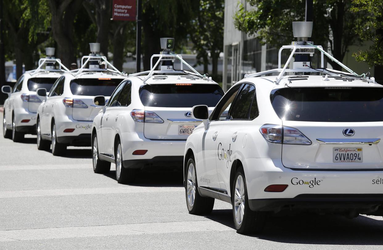 Беспилотные автомобили с лидарами