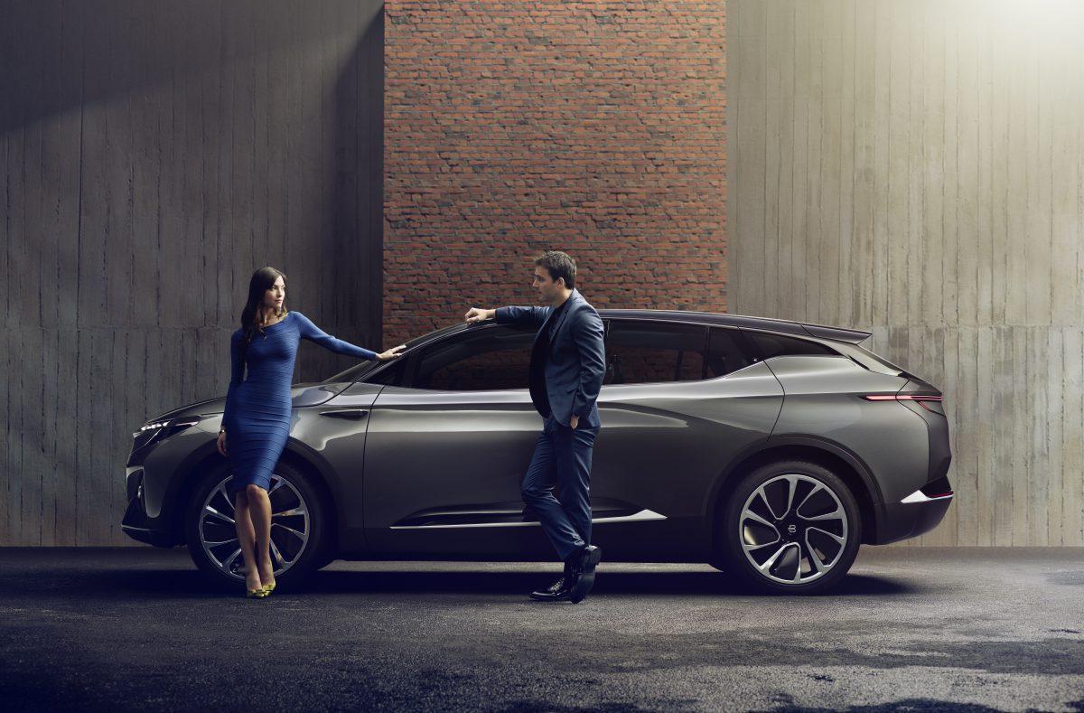 Электрический беспилотный автомобиль SUV 2019 Byton