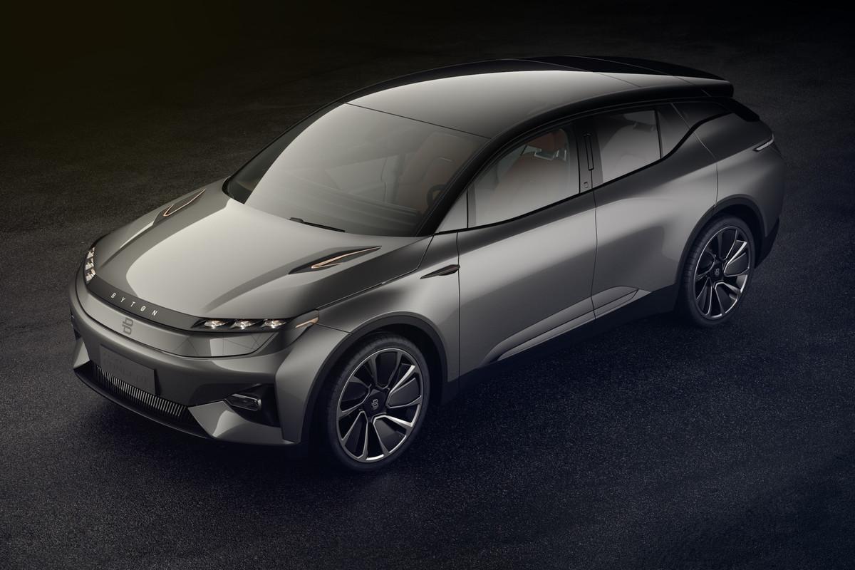 Электрический беспилотник SUV 2019 Byton