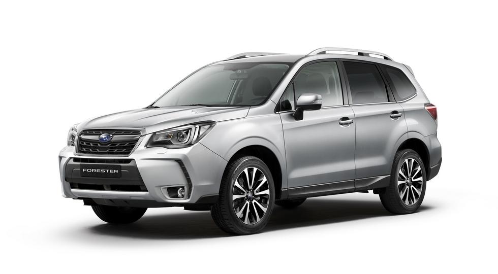 Нынешний Subaru Forester
